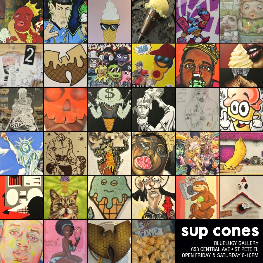 SUP CONES ART